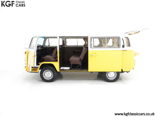 1976 RHD Volkswagen 2000L Type 2 Kombi Microbus with 45,776 miles SOLD (picture 3 of 6)
