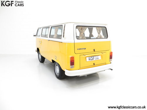 1976 RHD Volkswagen 2000L Type 2 Kombi Microbus with 45,776 miles SOLD (picture 4 of 6)