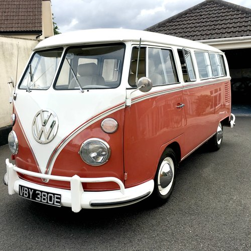 1967 VW Split Screen CamperVan- Californian Import SOLD (picture 1 of 6)