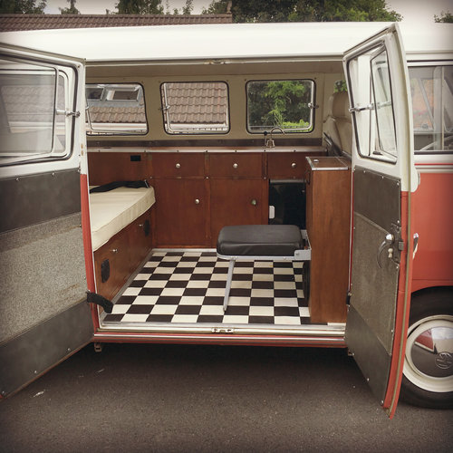 1967 VW Split Screen CamperVan- Californian Import SOLD (picture 5 of 6)