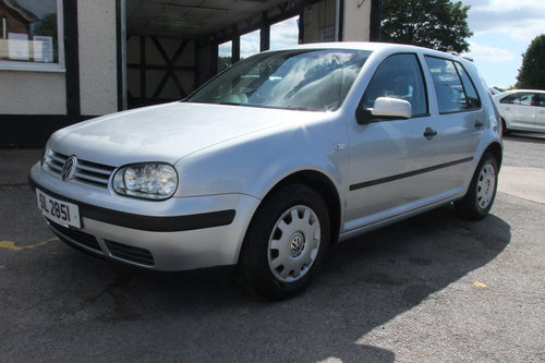 2003 VOLKSWAGEN GOLF 1.6 SE 5DR AUTOMATIC SOLD (picture 1 of 6)