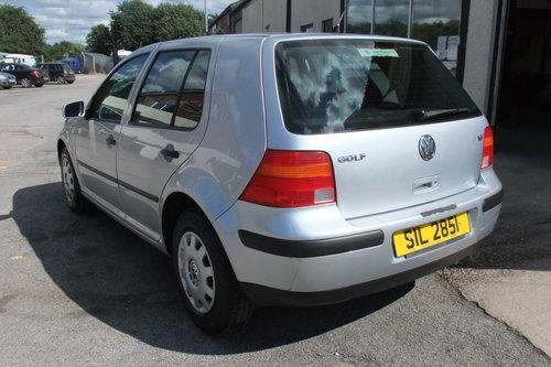 2003 VOLKSWAGEN GOLF 1.6 SE 5DR AUTOMATIC SOLD (picture 3 of 6)