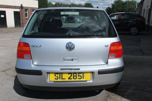 2003 VOLKSWAGEN GOLF 1.6 SE 5DR AUTOMATIC SOLD (picture 5 of 6)