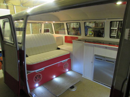 1974 VW Split screen 15 window Kombi (Converted) For Sale (picture 5 of 6)