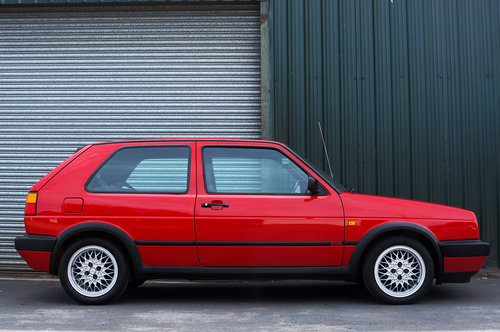 Golf GTi 8v 3dr, 1991, 22,900 miles, Red, BBS Alloys, Superb SOLD (picture 2 of 6)