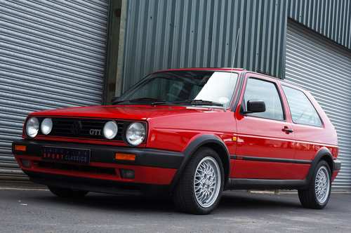 Golf GTi 8v 3dr, 1991, 22,900 miles, Red, BBS Alloys, Superb SOLD (picture 3 of 6)