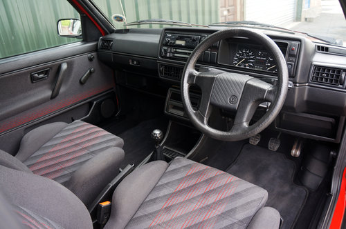 Golf GTi 8v 3dr, 1991, 22,900 miles, Red, BBS Alloys, Superb SOLD (picture 5 of 6)