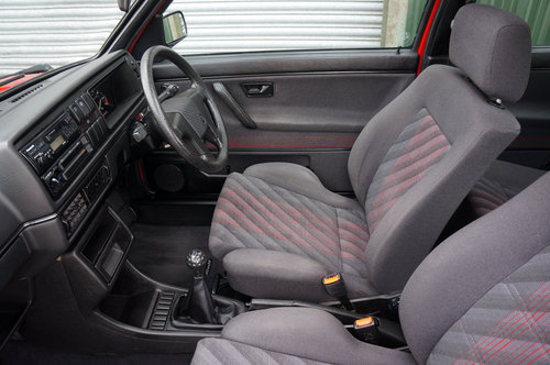 Golf GTi 8v 3dr, 1991, 22,900 miles, Red, BBS Alloys, Superb SOLD (picture 6 of 6)