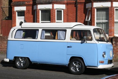 1969 VW  type 2 Bay window  camper van R.H.D. SOLD (picture 1 of 6)