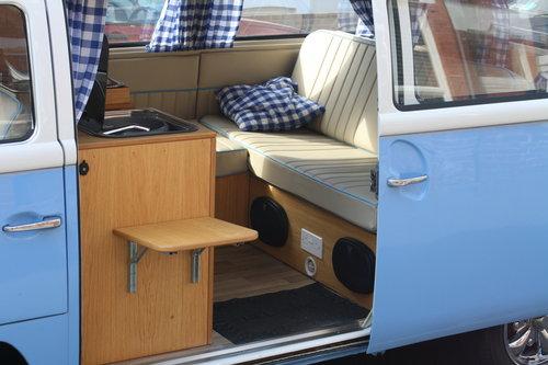 1969 VW  type 2 Bay window  camper van R.H.D. SOLD (picture 2 of 6)