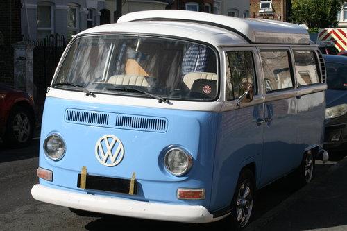 1969 VW  type 2 Bay window  camper van R.H.D. SOLD (picture 4 of 6)
