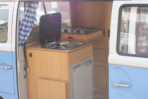 1969 VW  type 2 Bay window  camper van R.H.D. SOLD (picture 5 of 6)