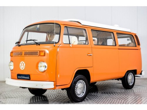 1975 Volkswagen T2 Camper Devon only 31000 km! For Sale (picture 1 of 6)