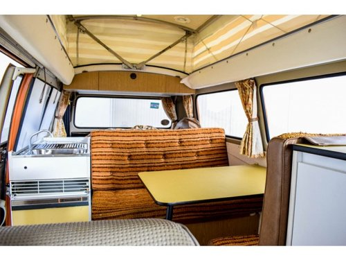 1975 Volkswagen T2 Camper Devon only 31000 km! For Sale (picture 5 of 6)