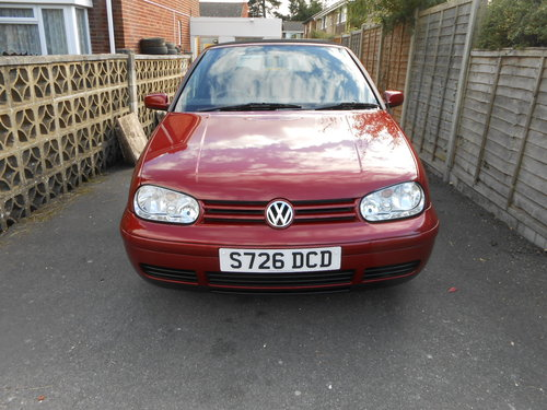 1998 Volkswagen golf cabriolet 2.0 ltr For Sale (picture 2 of 6)