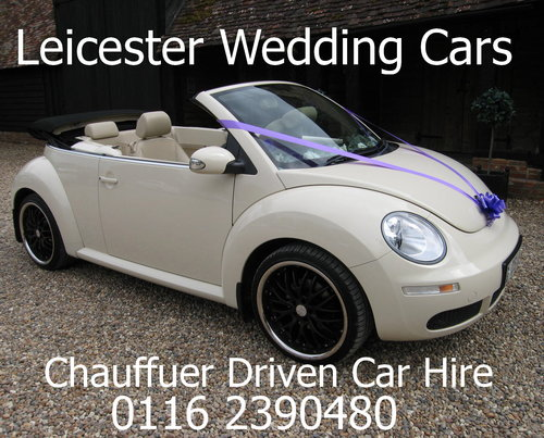 2007 Leicester Wedding Cars Vw Beetle Convertible For Hire Car And