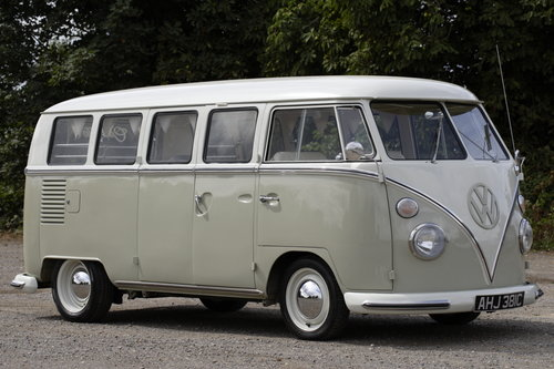 1965 VW Microbus Splitscreen 13 Window. For Sale (picture 2 of 6)
