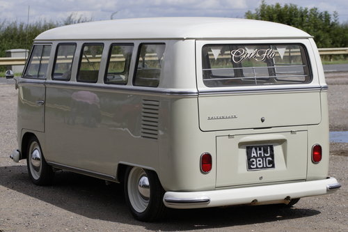 1965 VW Microbus Splitscreen 13 Window. For Sale (picture 5 of 6)