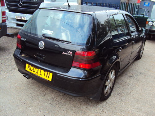 2003 RARE TO FIND VOLKSWAGEN GOLF V6 4 MOTION  For Sale (picture 5 of 6)