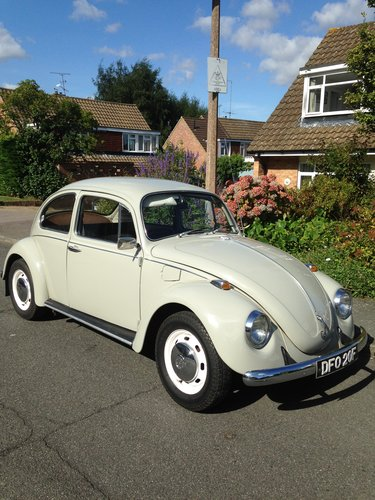 1968 VW BEETLE SOLD (picture 4 of 5)