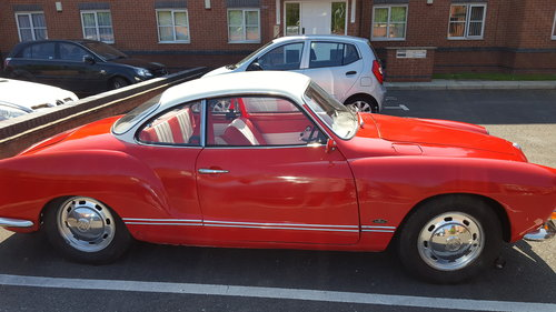 1969 Volkswagon karmann ghia SOLD (picture 5 of 6)