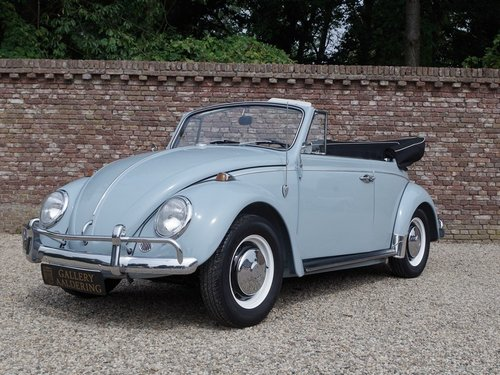 1967 Volkswagen Käfer / Beetle Convertible fully restored !! For Sale (picture 1 of 6)