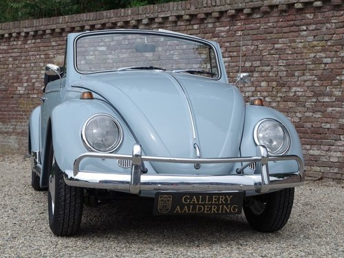 1967 Volkswagen Käfer / Beetle Convertible fully restored !! For Sale (picture 5 of 6)