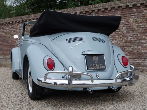 1967 Volkswagen Käfer / Beetle Convertible fully restored !! For Sale (picture 6 of 6)