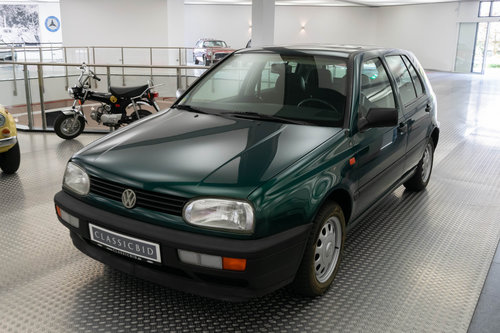 1995 VW Golf III 1.4 LHD For Sale (picture 1 of 6)