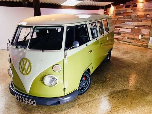 1965 Volkswagen Porsche Powered Split-Screen Bus – £79,995  For Sale (picture 1 of 6)