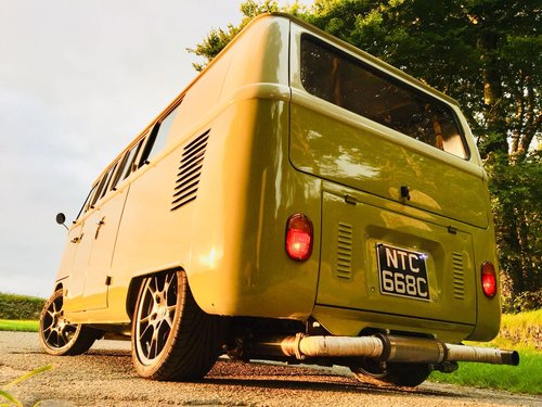 1965 Volkswagen Porsche Powered Split-Screen Bus – £79,995  For Sale (picture 6 of 6)