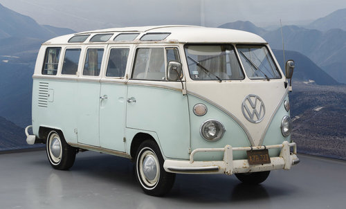 1966 VW Samba Bus 21 Windows For Sale (picture 1 of 6)