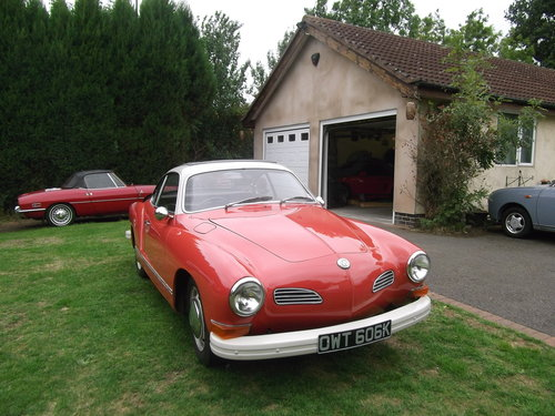 1972 Karmann Ghia, RHD 33317 Miles From New SOLD (picture 2 of 6)