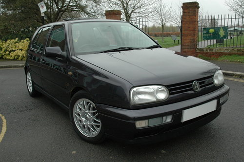 1996 Classic Volkswagen Golf VR6 2.8 Manual For Sale (picture 1 of 6)