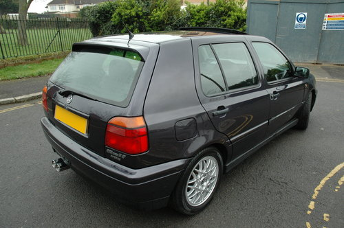 1996 Classic Volkswagen Golf VR6 2.8 Manual For Sale (picture 2 of 6)