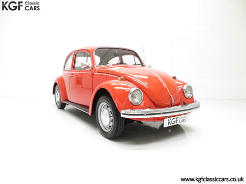 1972 An Amazing Volkswagen Beetle 1300 with Only 53,459 Miles SOLD (picture 1 of 6)
