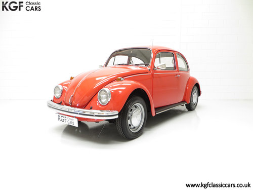 1972 An Amazing Volkswagen Beetle 1300 with Only 53,459 Miles SOLD (picture 2 of 6)