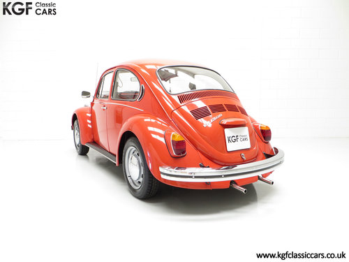 1972 An Amazing Volkswagen Beetle 1300 with Only 53,459 Miles SOLD (picture 4 of 6)