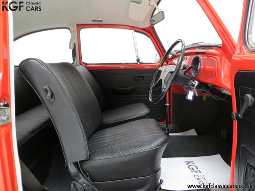 1972 An Amazing Volkswagen Beetle 1300 with Only 53,459 Miles SOLD (picture 6 of 6)