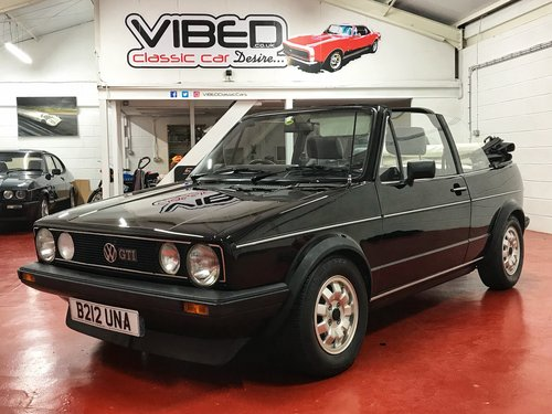 1985 Vw Golf Gti Mk1 Sold Similar Classics Required Sold Car And Classic
