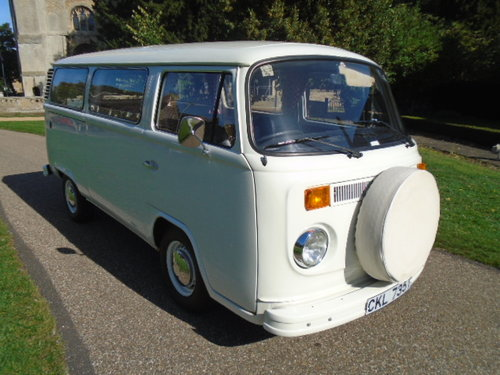 1979 VW Type 2 Camper Van.  For Sale (picture 1 of 6)