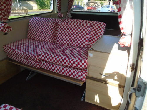 1979 VW Type 2 Camper Van.  For Sale (picture 4 of 6)