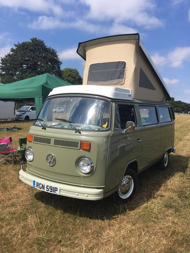 1976 Restored T2 LHD Late Bay Westfalia SOLD (picture 1 of 6)