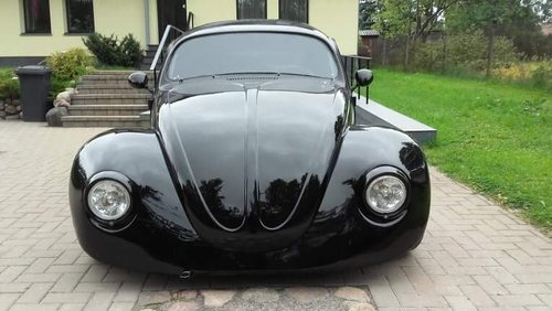 1975 Vw Bug Beetle custom frame with 1300 Yamaha engine For Sale (picture 1 of 6)