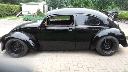 1975 Vw Bug Beetle custom frame with 1300 Yamaha engine For Sale (picture 3 of 6)