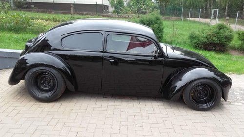 1975 Vw Bug Beetle custom frame with 1300 Yamaha engine For Sale (picture 4 of 6)