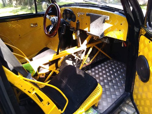1975 Vw Bug Beetle custom frame with 1300 Yamaha engine For Sale (picture 6 of 6)