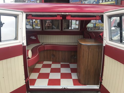 1965 VW split Screen camper , show winning magazine feature , For Sale (picture 5 of 6)