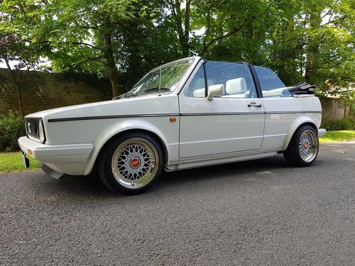 1986 VW Golf Mk1 GTi Cabriolet - Outstanding condition For Sale (picture 1 of 6)