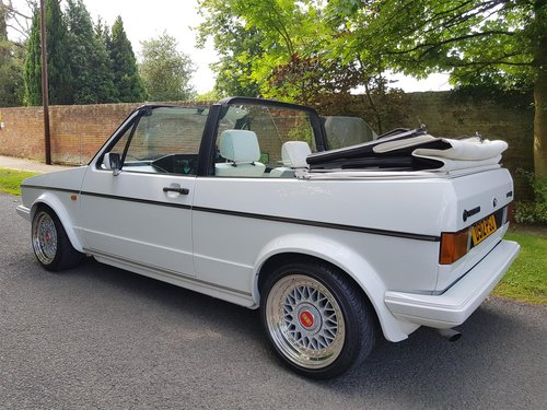 1986 VW Golf Mk1 GTi Cabriolet - Outstanding condition For Sale (picture 2 of 6)